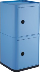 China manufacturers suppliers Classic Storage Box Sky Blue 2 layers Units Square Boxes Shops