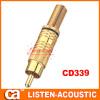 RCA connector banana plug CD339