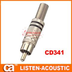 RCA connector banana plug CD341