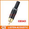 RCA connector banana plug CD343