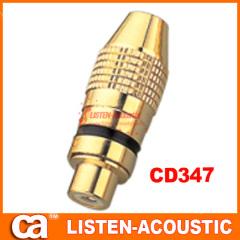 RCA connector banana plug CD347