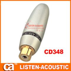 RCA connector banana plug CD348