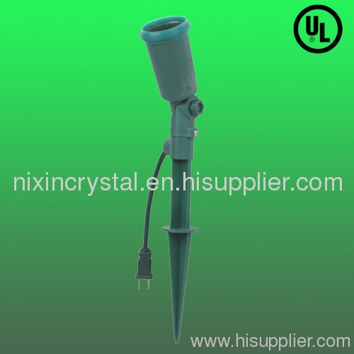 Stake With Lamp Holder From China Manufacturer
