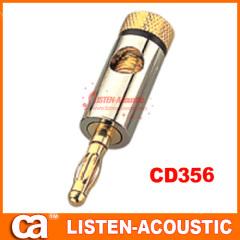 RCA connector banana plug CD356