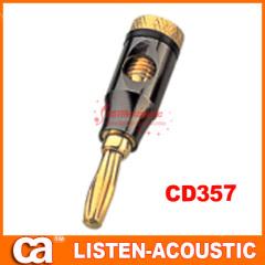 RCA connector banana plug CD357