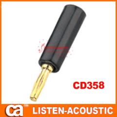 RCA connector banana plug CD358