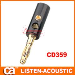 RCA connector banana plug CD359