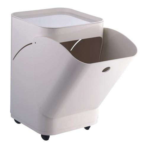 Modern White Wheeled Large Open Storage Cabinet Plastic Mould Design  Manufacturer China
