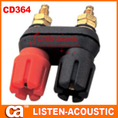 RCA audio and video connector