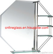silver mirror with mordern design