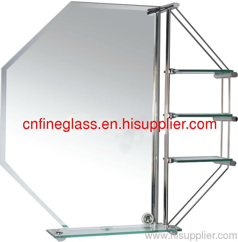 silver mirror with mordern design