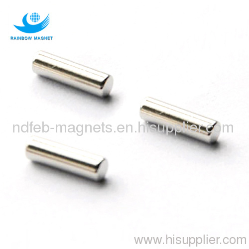 Permanent neodymium Iron Boron Cylinder magnets