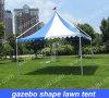 Aluminum frame gazebo shape lawn tent for event/change clothes