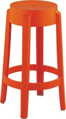 Round orange small plastic chairs desk mini chairs for Kids