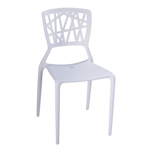 Modern White Hollow Back Style Mini Side Chair Plastic Small Side Chairs  For Children Wholesale