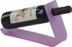 Purple Plastic Single Wine Rack durable homeware plastic product wine storage
