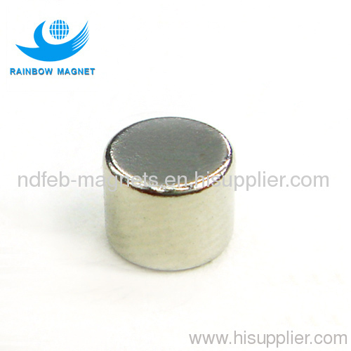 Permanent neodymium Iron Boron Cylinder magnets