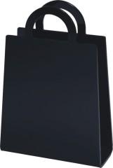 Durable Practical crystal Acrylic Organizer bag magazines storage racks office consumable