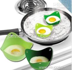 2pc/set Poach Pod Set of Two Silicone Egg Poachers