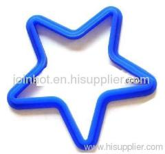 FDA Silicone rubber Silicone Star Shape Pancake/Egg Mold pie Mould 14cm*14cm