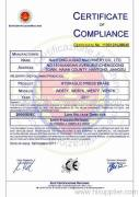 CE CERTIFICATION FOR HYDRAULIC BENDER