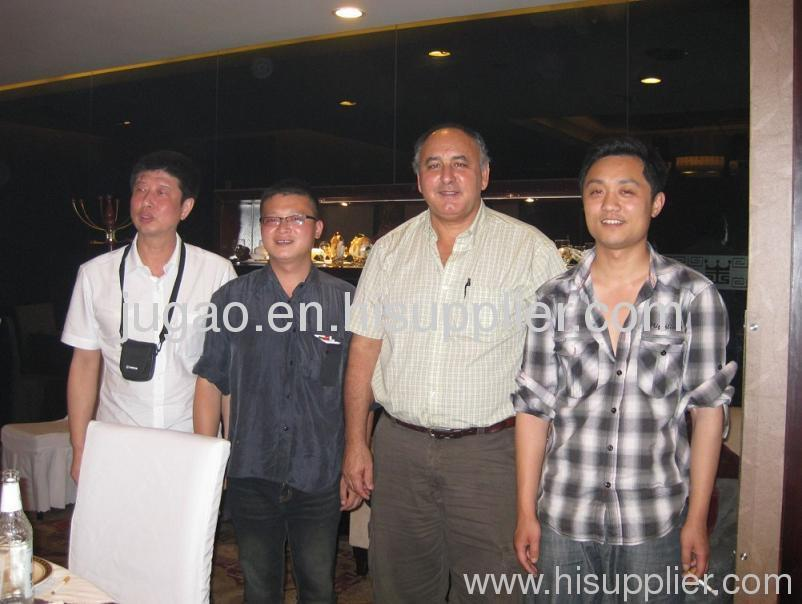 Canadian cooperate Mr Daniel inspect our company