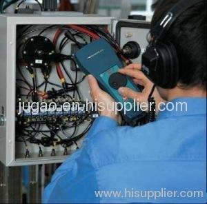 Ultrasonic testing equipment for hydraulic system
