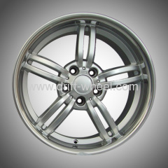 18 INCH STAGGER SIZE BMW ALLOY WHEELS FITS ALL SERIES DEEP LIP INOX LIP WHEEL RIM