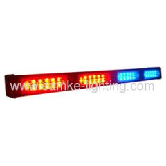 Warning stick light with 6 leds