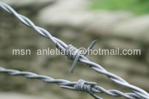 high quality barbed wire mesh