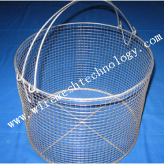 JHT --- with handle Stainless steel medical basket
