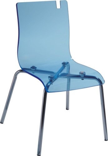 Plastic seat chromed legs children s side chairs kid seating