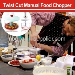 Twist Cut Manual Food Chopper