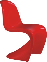 Modern Wave sharp Kid's Panton Chair dining room children side chairs kids seat