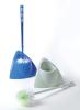 HQ1860 bathroom corner toilet brush with holder,sanitary toilet brush with bowl,WC brush with base