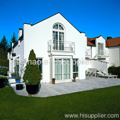 Exterior villa door