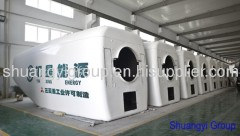 FRP wind turbine nacelle cover (spinner, nose cover, wheel hub)