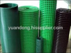 PVC coated welded wire mesh low carbon iron wire fence