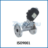 Flange Pneumatic Angle Valve