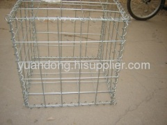 welded gabion mesh galvanized wire PVC coated wire