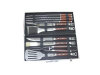 stainless steel BBQ tools set