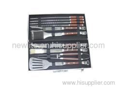 BBQ tools set case