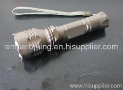 High brightness LED flashlight