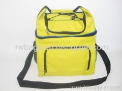 Yellow cooler bag