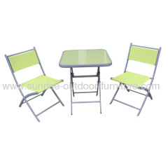 outdoor textilene sets