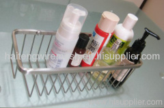 stainless steel wire shelf bathroom