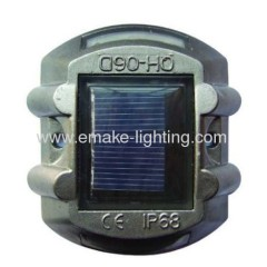 Aluminium solar led road stud