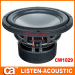 12 inch size magnet auto speakers woofer
