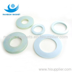 NdFeB ring magnets. permanent rare earth material magnet.
