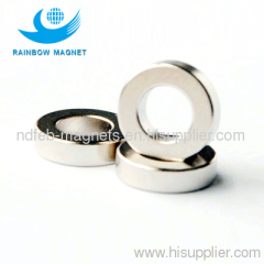 Sintered NdFeB ring magnets.Super strong permanent magnet